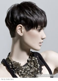 Short hair profile We love this hair color style extensions @HouseofCaj