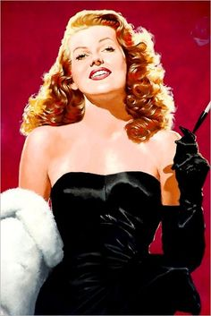 Rita Hayworth by José Luiz Benicio