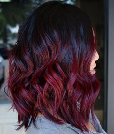 45 Shades Of Burgundy Hair Dark Burgundy Maroon Burgundy With Red Purple And Brown Highlights Hair Dye Tips Wine Hair Burgundy Hair Dye