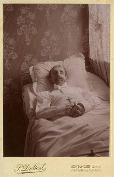 Man on deathbed