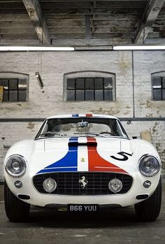 Ferrari 250 SWB || #WORMLAND Men's Fashion Car Style