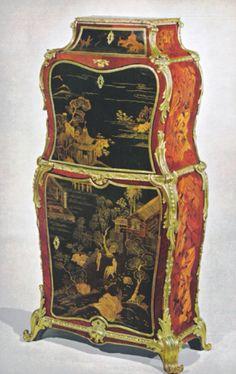 Le secrétaire conservé à la Wrightsman Collection de New York