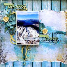 Dusty Attic Dec DT LO - WWW Nov Cruise - chipboard, stencil, Blue Fern Studios Wanderlust, travel