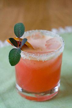 Halloween Recipes : Blood Orange Margarita