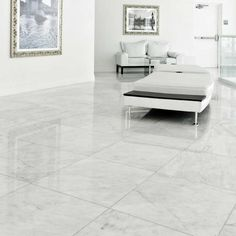 Calacatta Polished Marble Tile