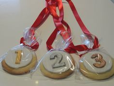 cookies for medals - Google Search