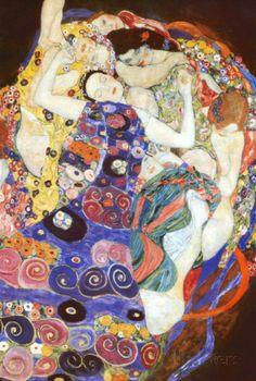 Jungfrun - Affischer av Gustav Klimt på AllPosters.se