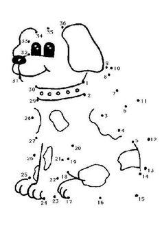 """perro """"unir por puntos"""" - Buscar con Google"""