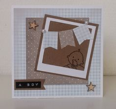 Moostly Cards & Crochet: Serie #22 Baby'tjes & polaroids