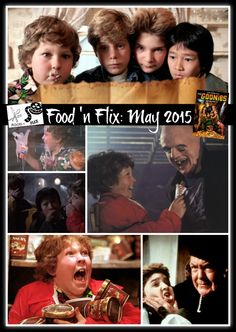 May 2015 edition of Food 'n Flix hosted at girlichef.com, featuring The Goonies!