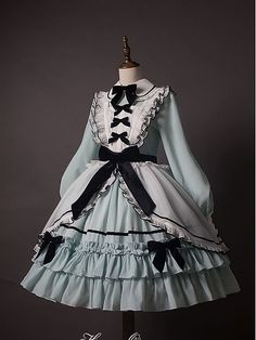 Pretty Outfits, Pretty Dresses, Beautiful Dresses, Kawaii Dress, Kawaii Clothes, Cosplay Dress, Cosplay Outfits, Kawaii Fashion, Cute Fashion