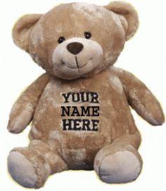 YourNameHere Bear.  He has a good heart.