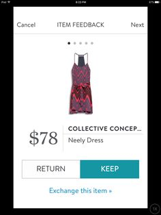 Collective Concepts Neely dress May 2017 Stitch Fix