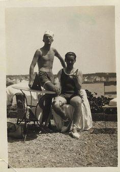 Salvador Dalí and Federico García Lorca in Cadaqués.