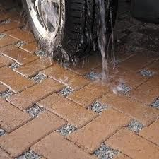 Permeable pavement, porous pavement and plantable driveway and parking lot options for LEED and sustainable projects looking to reduce stormwater runoff. Permeable Driveway, Gravel Driveway, Driveway Landscaping, Driveways, Brick Driveway, Driveway Ideas, Porous Pavement, Pervious Pavers, Landscape Design