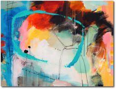 «In Time 2» – akryl på lerret - 156x120 cm.  Kunstner - Ira Ivanova.  Original - kr 21.000,-.   Tilgjengelig som kunsttrykk: A2-kr 1.200,-, A3-kr 900,-, A4-kr 600,-