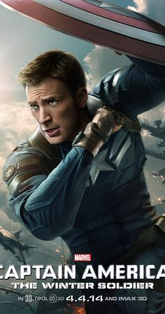 Directed by Anthony Russo, Joe Russo.  With Chris Evans, Samuel L. Jackson, Scarlett Johansson, Robert Redford. As Steve Rogers struggles to embrace his role in the modern world, he teams up with another super soldier, the Black Widow, to battle a new threat from history: an assassin known as the Winter Soldier.