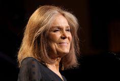 Gloria Steinem. A doença da jornalista e feminista foi diagnosticada em 1986.