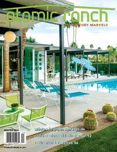From a rundown wreck of a house, a Palmer & Krisel in Palm Springs expanded into the ultimate weekend entertainment venue. An additional 1,100 square feet and energy-efficient features are some of the new interior amenities, but it's hard to compete with the outdoor custom furnishings, sparkling pool and fire pits; story page 46.