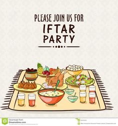 Invitation Card For Ramadan Kareem Iftar Party Celebration. - Download From Over 44 Million High Quality Stock Photos, Images, Vectors. Sign up for FREE today. Image: 52415218