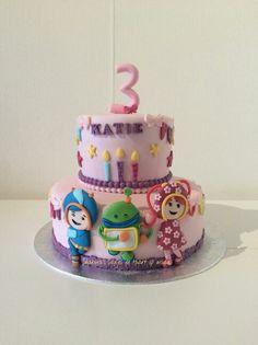 Umizoomi cake made by Sharona's Cakes