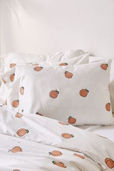 Slide View: 6: Peach Duvet Cover Set