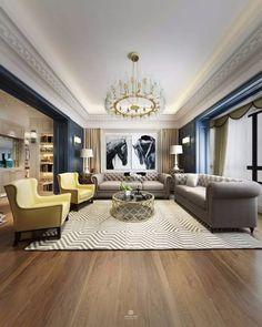 10 Contemporary Rugs To Match A Stylish Living Room Sofa | Home Décor Trends | Design inspiration | Modern Design #HomeAmbiences # ColourTrends #ModernLivingRoom Read more: http://modernsofas.eu/2017/07/13/contemporary-rugs-match-stylish-living-room-sofa/