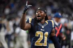 Seahawks stumble in opener, Rams rise to occasion in 34-31 overtime victory - By R.B. FALLSTROM, AP Sports Writer - (Photo: St. Louis Rams' Janoris Jenkins celebrates following the Rams 34-31overtime victory over the Seattle Seahawks in an NFL football game Sunday, Sept. 13, 2015, in St. Louis. - AP Photo/L.G. Patterson)