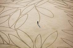 jim denevan sand art
