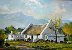 Washerwoman's Cottage W Cape 2 by Dale Elliot   Dante Art Gallery