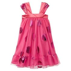 One thing about my little girl is she loves pink and wants to wear dresses everyday. She would love this dress and it's cute and affordable