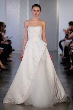 Oscar de la Renta Bridal Spring 2017 Fashion Show - BRIDAL FASHION WEEK APRIL 2016