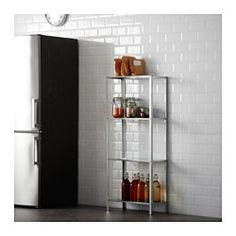IKEA - HYLLIS, Shelf unit, Suitable for both indoor and outdoor use.The included plastic feet protect the floor against scratching.