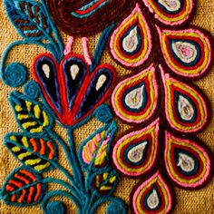 Chula Mexican Folk Art Collab Idea Mexican Folk Art - Chula Mexican Folk Art Finder Not Keeper Mexican Folk Art Finder Not Keeper Amate Mexican Bark Art Yay Amate I Did An Amate Project With Third And Fourth Grade Classes Last Year On Hungarian Embroidery, Folk Embroidery, Learn Embroidery, Embroidery Patterns, Diy Mexican Embroidery, Indian Embroidery, Motifs Textiles, Yarn Painting, Mexican Textiles