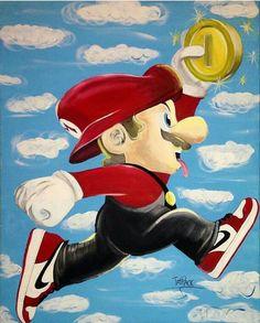 Mario X Air Jordan