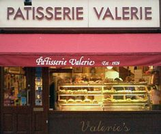 Pâtisserie Valérie in Soho / I used to buy their dates stuffed with marzipan.