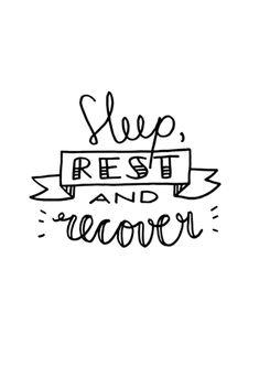 'Get well soon' - Free recovery handlettering printables via www.luloveshandmade.com