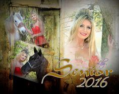 Senior Invitations By Debbie Ashby Photography