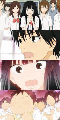 why was everyone so surprised about Kazehaya and Sawako becoming a couple? Anime Girl Cute, Hot Anime Guys, Cute Anime Couples, Manga Anime, Kimi Ni Todoke, Romance, Kaichou Wa Maid Sama, Cute Icons, Aesthetic Anime