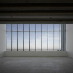 View towards the sea seen from one of the galleries from the Turner Contamporary by architect David Chipperfield.