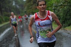 Zola Budd during the Two Oceans Marathon