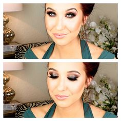 Jaclyn Hill using all Makeup Geek eyeshadows for this look!  Love this <3