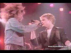 Back in 1985... still hot! It's Only Love - Bryan Adams & Tina Turner