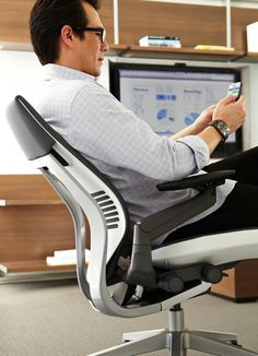 Gesture chair. Steelcase.
