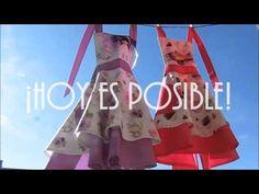 Delantal y Gorro Cupcake y Vintage Niña en KomsiKomsa - YouTube