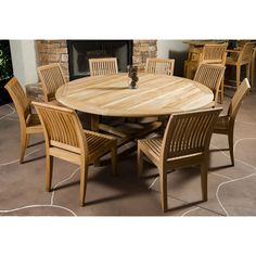 This Westminster Teak Patio Furniture Set includes our Buckingham Round Table and Laguna Side chairs. All our Teak outdoor furniture has a life expectancy of 75 years untreated and weathered. Entry Furniture, Royal Furniture, Teak Outdoor Furniture, Cottage Furniture, Patio Furniture Sets, Luxury Furniture, Rustic Furniture, Antique Furniture, Industrial Furniture