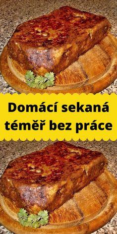 Domácí sekaná téměř bez práce Steak, Food, Essen, Steaks, Meals, Yemek, Eten