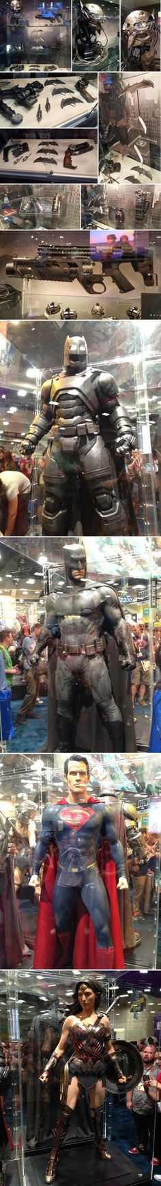 Comic Con 2015: The Dark Knight's Gadgets from 'Batman v. Superman'