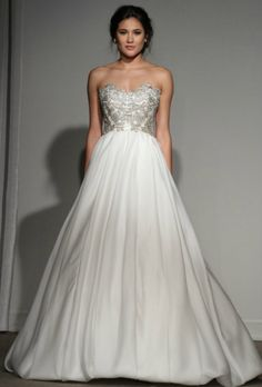 Anna Maier Ulla-Maija Spring 2013 bridal collection (loving the bubble skirt!)