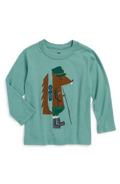Free shipping and returns on Tea Collection 'Eichhornchen' Long Sleeve T-Shirt (Baby) at Nordstrom.com.